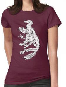 Heraldic Velociraptor Womens Fitted T-Shirt