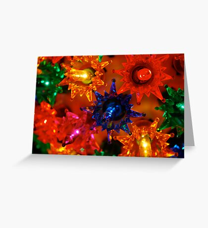 Multi-Colored Greeting Card