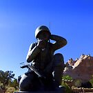 Navaho Code Talkers, Memorial.   by Charmiene Maxwell-Batten