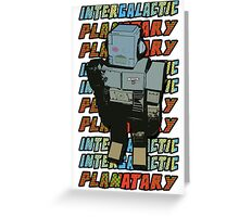 Beastie Boys - Intergalactic Planatary Greeting Card