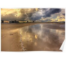 Sand and Sky-6523-HDR Poster