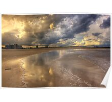 Sand and Sky-6529-HDR Poster