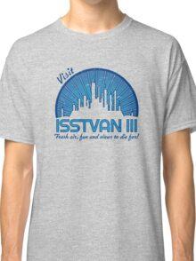 Visit (dark blue) Classic T-Shirt