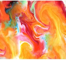 Smudge Paint Abstract #1 Photographic Print