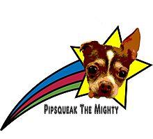 Pipsqueak The Mighty Rainbow Star Photographic Print