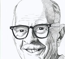 DISNEY ANIMATOR OLLIE JOHNSON by David Lumley