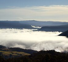 Valley Clouds - Kangaroo Valley, NSW by Malcolm Katon