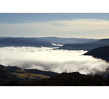Valley Clouds - Kangaroo Valley, NSW Photographic Print