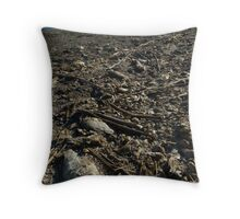 Salton Sea: Fresh Water Fish Death Throw Pillow