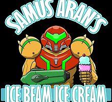 Samus Aran's Ice Beam Ice Cream! by crashbomber