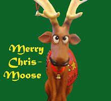 Merry Chris-Moose by jansnow