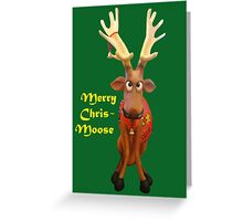 Merry Chris-Moose Greeting Card