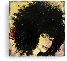 she swings Canvas Print