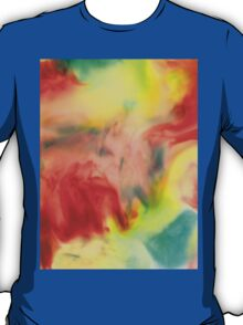 Smudge Paint Abstract #3 T-Shirt