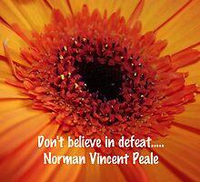 Norman Vincent Peale Quote by ZeeZeeshots