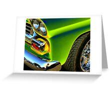 green truck Greeting Card