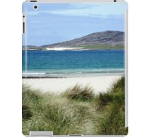 Immaculate Sands - Seilebost and Luskentyre Beaches iPad Case/Skin