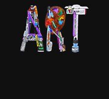 Art Supplies Womens Fitted T-Shirt