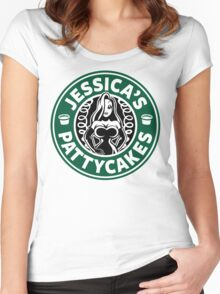 Jessica's Pattycakes Women's Fitted Scoop T-Shirt