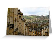 Bath views Greeting Card