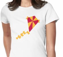 Children kite Womens Fitted T-Shirt