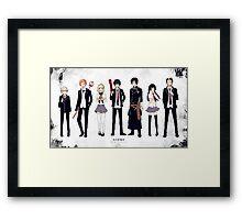 Anime: Ao no Exorcist Framed Print
