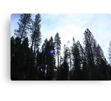 Giants Gathering Around Canvas Print