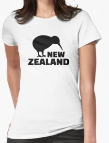 Kiwi New Zealand  Womens Fitted T-Shirt