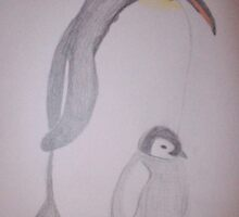 Penguin Family by DeludedDesigns