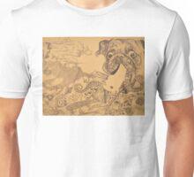 Pug puke Unisex T-Shirt