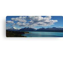 Mount Cook - From Lake Pukaki, New Zealand Canvas Print