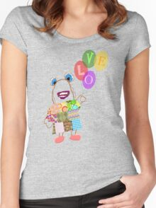 Betty's Balloons Women's Fitted Scoop T-Shirt