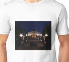 Terrace at night Unisex T-Shirt
