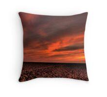 Blazing Sunset Throw Pillow
