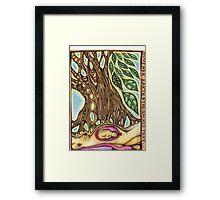 sacred tree Framed Print