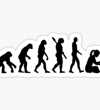 Evolution Knitting Sticker