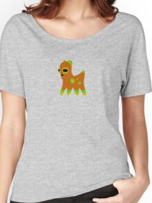 Spotted Orange Creature Women's Relaxed Fit T-Shirt