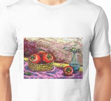 Still Life with Persimmon Unisex T-Shirt