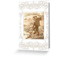 Belgrade tango Greeting Card