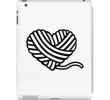Wool heart iPad Case/Skin