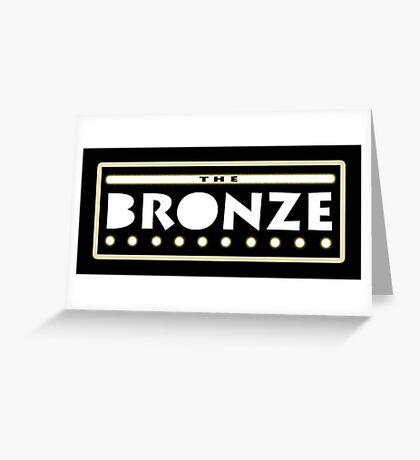Bronze Greeting Card