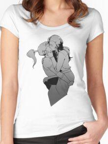 Korrasami Kiss Women's Fitted Scoop T-Shirt