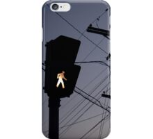 Crosswalk light iPhone Case/Skin