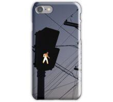Crosswalk light iPhone Case/Skin