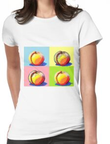 4 Peaches, Like Andy Warhol Womens Fitted T-Shirt
