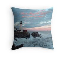 The Glory of the Lord! Throw Pillow