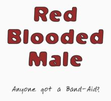Red blooded male by Duncan Waldron
