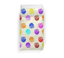 Roses In Colors Duvet Cover