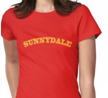 Sunnydale Gym Womens Fitted T-Shirt