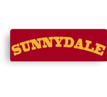 Sunnydale Gym Canvas Print